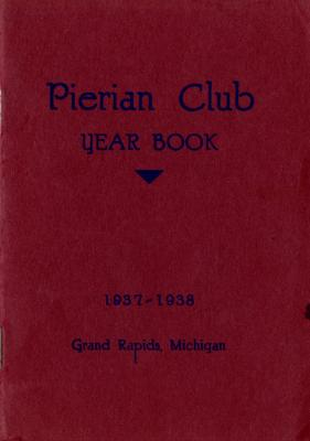 The Pierian Club Yearbook for 1937-1938