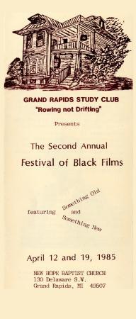 Fourth Annual Festival of Black Films
