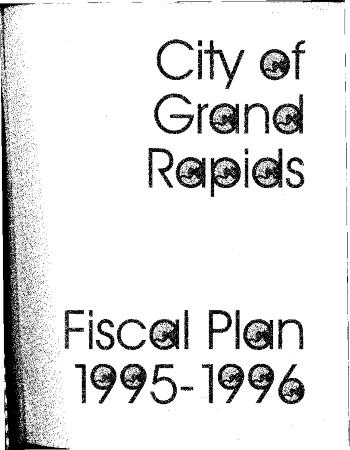 Fiscal Plan excerpts, 1995-1996