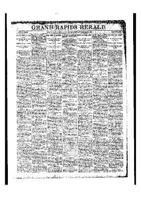 Grand Rapids Herald, Friday, November 10, 1893