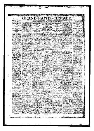 Grand Rapids Herald, Friday, November 03, 1893