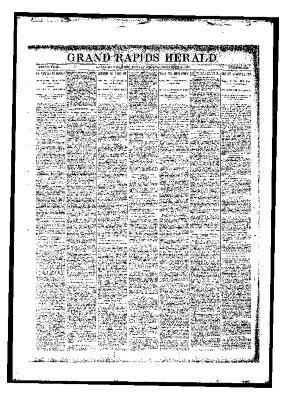 Grand Rapids Herald, Monday, November 20, 1893