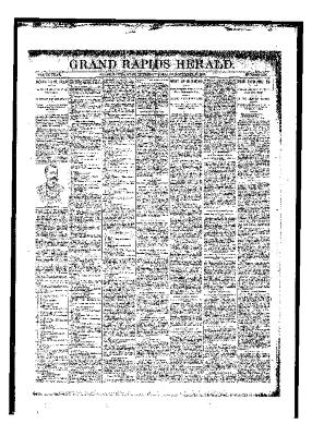 Grand Rapids Herald, Thursday, November 23, 1893