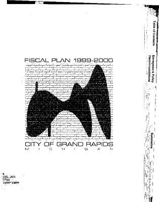 Fiscal Plan excerpts, 1999-2000