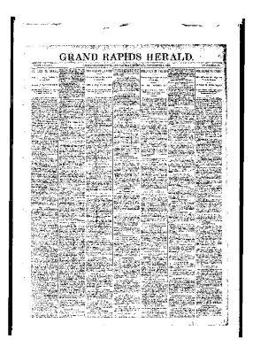 Grand Rapids Herald, Wednesday, November 01, 1893