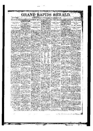 Issue of Grand Rapids Herald for Friday, October 27, 1893