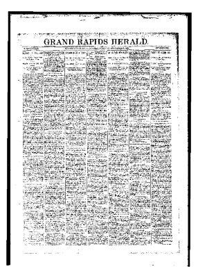 Grand Rapids Herald, Monday, November 06, 1893