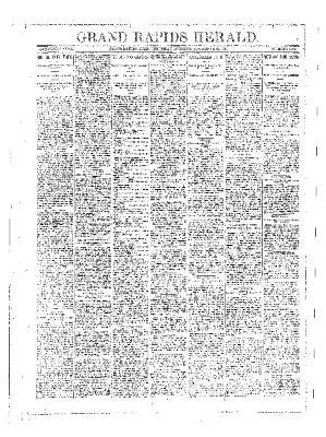 Grand Rapids Herald, Thursday, November 22, 1894