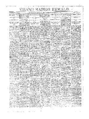 Grand Rapids Herald, Saturday, November 24, 1894