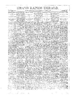 Grand Rapids Herald, Friday, November 23, 1894