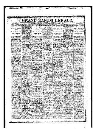 Grand Rapids Herald, Thursday, November 02, 1893