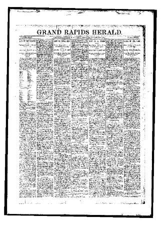 Grand Rapids Herald, Tuesday, October 31, 1893