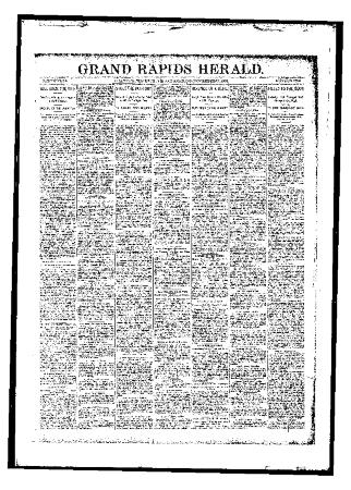 Grand Rapids Herald, Friday, November 17, 1893