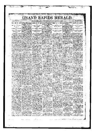 Issue of Grand Rapids Herald for Thursday, October 26, 1893