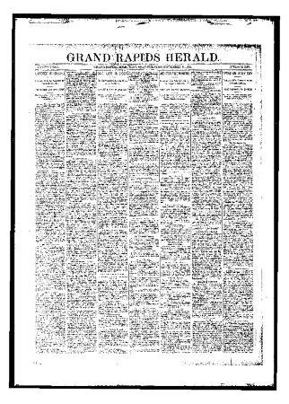 Grand Rapids Herald, Saturday, November 25, 1893