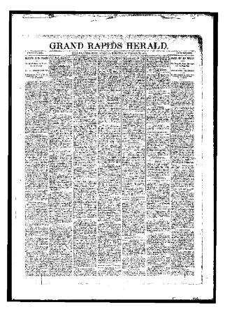 Grand Rapids Herald, Tuesday, November 21, 1893